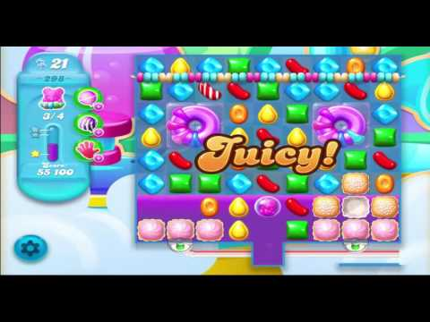 Candy Crush Soda Saga Level 298 With No Boosters