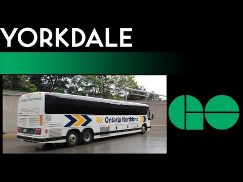 GO/TTC - Yorkdale Regional Bus Terminal Walkthrough