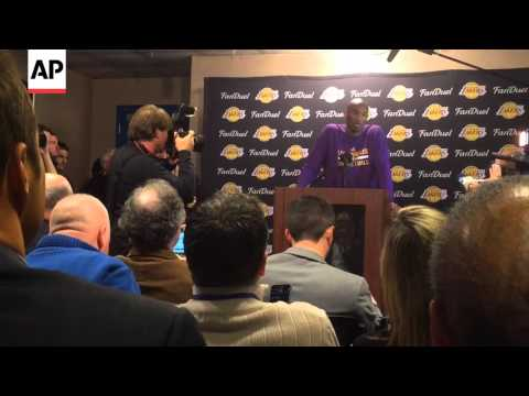 Kobe Bryant Speaks In Spanish About NBA Career