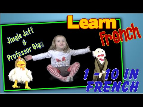 Learn French Numbers 1 - 10 | Count in French | The Numbers song