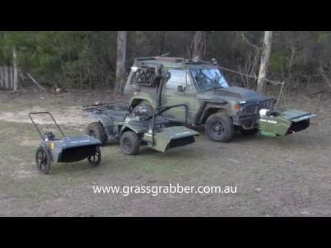Grass Grabber Harvester - Grass Seed - Wildflower Seed - Grains