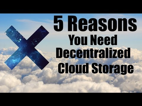 5 Reasons You Need Decentralized Cloud Storage!