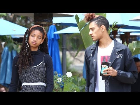 Willow Smith And Boyfriend Tyler Cole Keep A Low Profile At The Mall