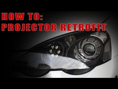 HOW TO: HID Projector Retrofit Guide
