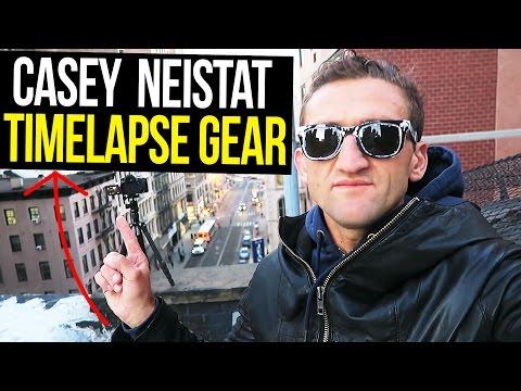 Casey Neistat Timelapse Video Gear