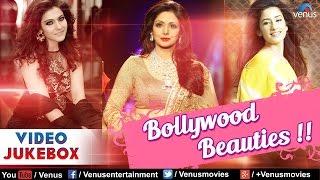Bollywood Beauties : Kajol, Sridevi & Manisha ~ Best Hindi Songs    Video Jukebox