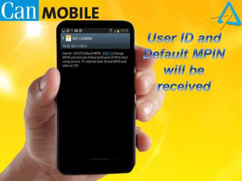 How To  Canara bank Mobile Banking Registration and Activation