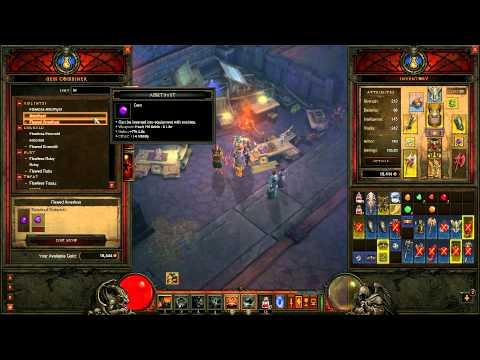 The Chicken Snyper's Tutorials, Diablo 3 Crafting
