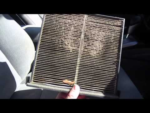 HOW TO CANGE CABIN AIR FILTER 2006-2011 HONDA CIVC