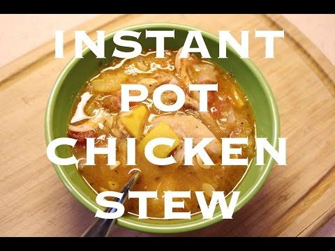 Instant Pot Recipe: Chicken Stew | Paleo + Gluten Free
