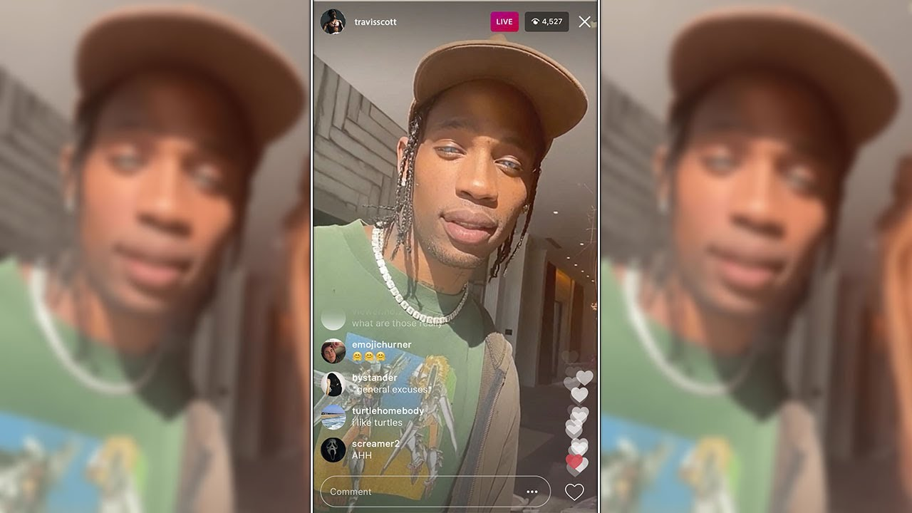"""""""She's fake"""" Travis Scott finally reveals why he broke up with Kylie Jenner (IG Live Video)"""