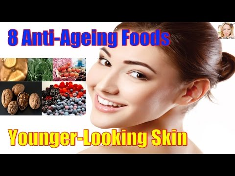 8 Anti Ageing Foods That Will Give You A Younger Looking Skin