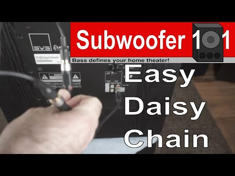 How to Daisy Chain Subwoofers Without Complications