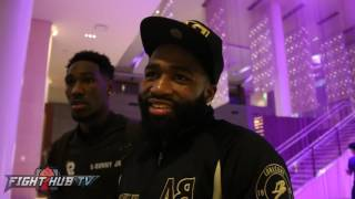 """Adrien Broner """"Tell Arum to make my money right & we gonna have a nice fight"""""""