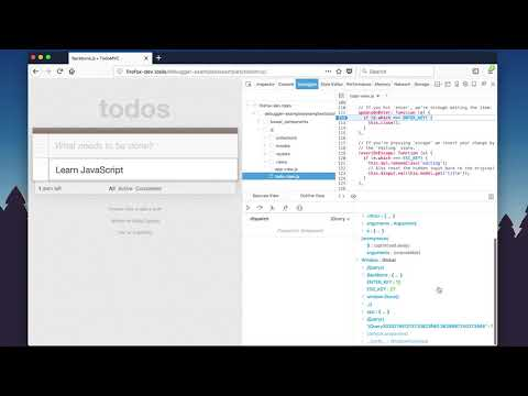 Firefox JavaScript Debugger