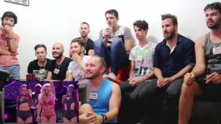 Britney Spears 2016 BBMA performance reaction (brasil)