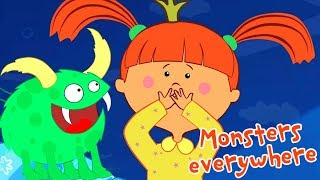The Little Princess - Monsters everywhere - Animation For Children