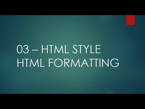 HTML5 tutorial for beginners in hindi |03- html style,html formatting