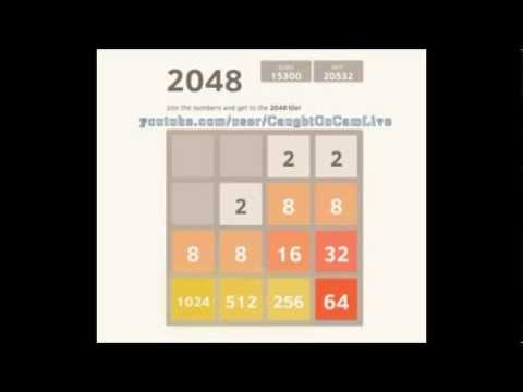 How to reach the 2048 tile in 2048 game in 19 min
