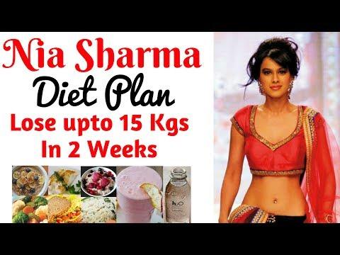 हिंदी में Nia Sharma (Manvi) Diet Plan For Weight Loss | Diet Plan for Weight Loss For Women, Celeb
