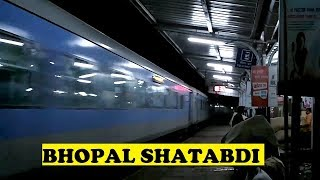 Bhopal New Delhi Shatabdi Honks Tears Lalitpur