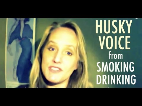 Will Smoking & Drinking Create a Husky Singing Voice? -  Vocal Myths Exposed
