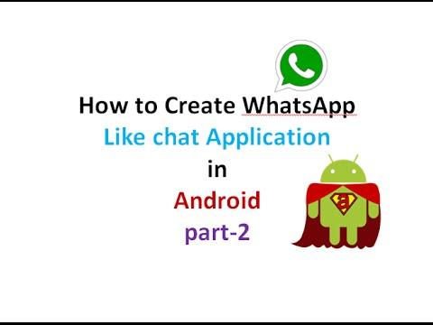 How to Create chat Application like WhatsApp:part2 | ShoutCafe.com