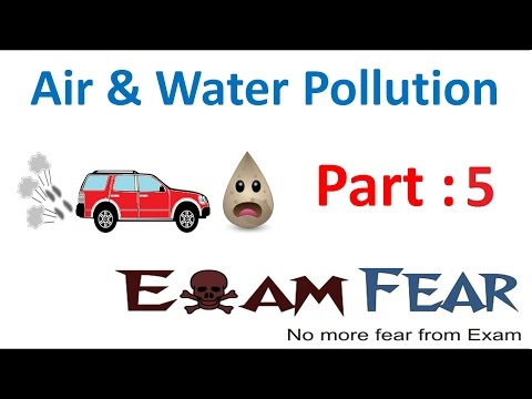 Biology Air Water Pollution Part 5 (Air pollution: Industrial Emissions) Class 8  VIII