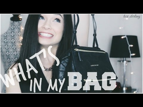 What's in my Bag // Givenchy Mini Pandora | Tori Sterling ♡