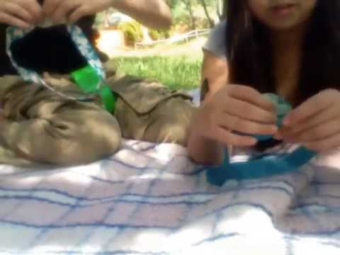 How to make a harness out of duct tape