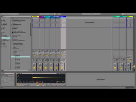 Beat Session 1 - Trap Beat in Ableton Live 9