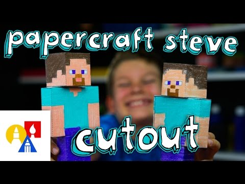 How To Make Steve Papercraft Cutout