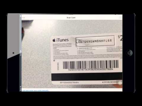 SAMPS iPad Portal - Redeeming an iTunes Gift Card