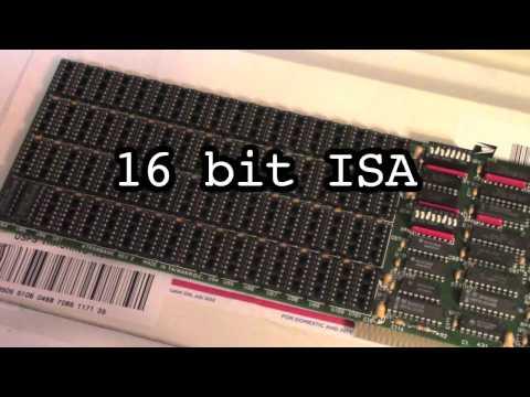 IBM 5170 AT DFI RAM Upgrade! (ISA RAM Card)