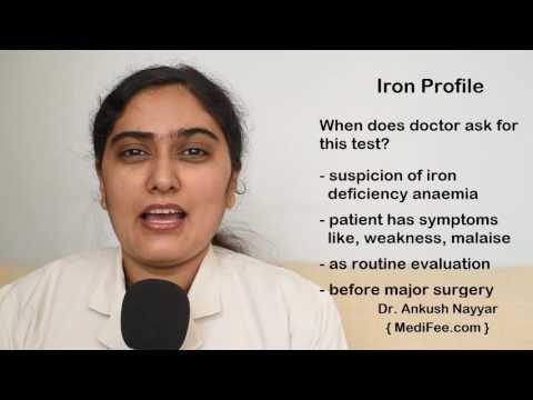 Iron Profile Blood Tests