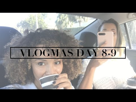 VLOGMAS DAY 8-9 | First Vacation Away From My Baby