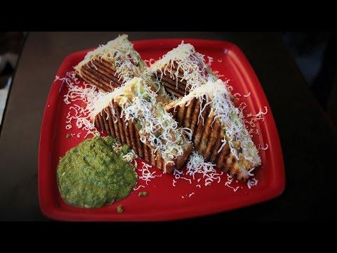Mexican Grill Sandwich Recipe at Karnavati Snacks | Easy Grill Sandwich Recipe Video