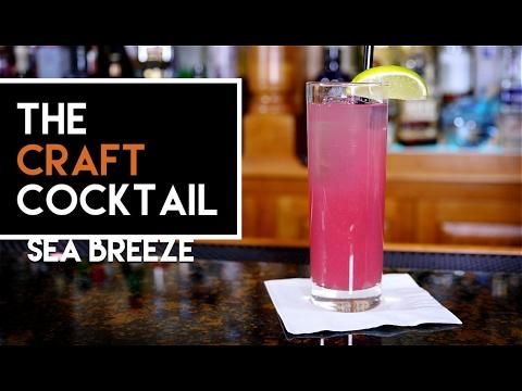⛵ Easy Vodka Drinks: Sea Breeze / Easy Vodka Cocktail Series 1