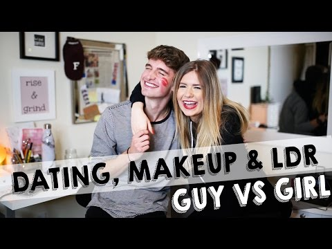 GUY VS GIRL: Dating, MakeUp, Long Distance Relationships