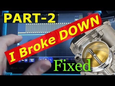 Ford Freestyle PART 2 - FIXED Fail safe left us sitting  P2100 P2107 P2110