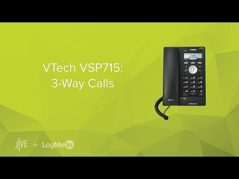 VTech VSP715: 3-Way Calls