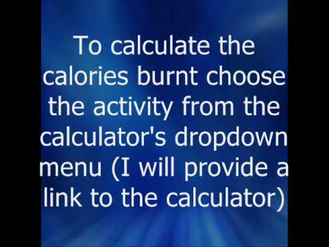 How Many Calories Do You Burn?