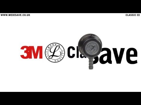 Littmann Classic III Stethoscope: Black and Smoke 5811