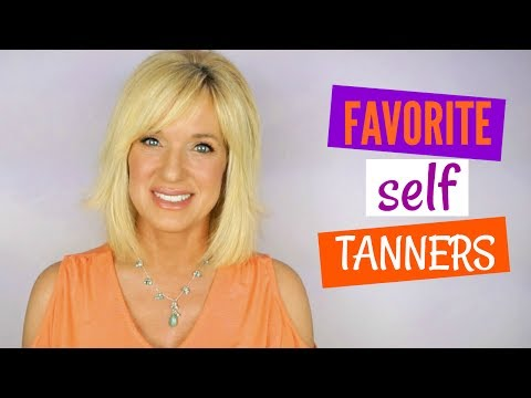 BEST Self Tanners for PALE, DRY or MATURE Skin!