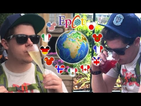 Epcot Around The World Drinking Challenge