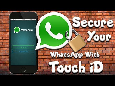 How To Secure WhatsApp with Touch iD  [Finger Print]