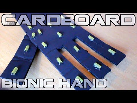 How To Make Cardboard Bionic Hand