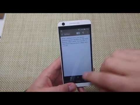 HTC Desire 626 How to turn off TalkBack accessibility feature voiceover