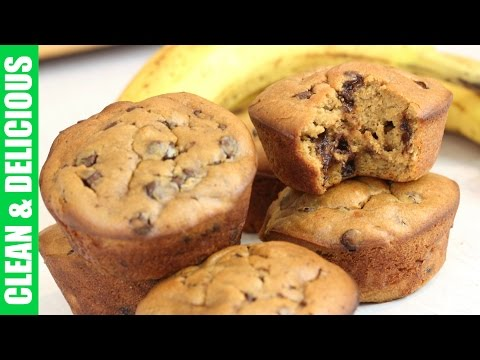 Gluten Free Chunky Monkey Muffins   Clean & Delicious