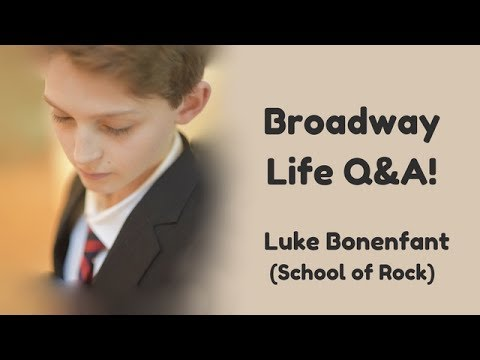 Broadway kid life Q&A *and more*